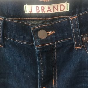 J Brand Jeans - J Brand Low-Rise Petite Pencil Leg Jeans Ink 27